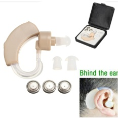 Harga Kiri Kanan Alat Bantu Dengar Mini Amplifier Suara Di Belakang Di Telinga Ringan Suara Case Intl Yang Murah Dan Bagus