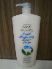 Harga Hemat Leivy Double Moist Shower Cream 1150Ml Sabun Cair Susu Domba