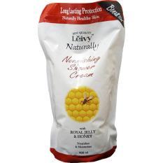 Jual Leivy Shower Cream Reffil Royal Jelly 900 Ml Sabun Pelembab Kulit Mencegah Kulit Kering Moisturizing Leivy Branded