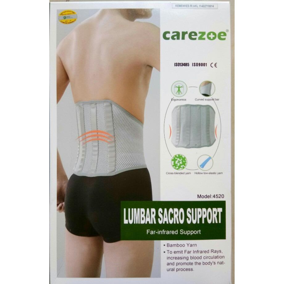 Leoshop888 Korset Lumbar Sacro Support Far infrared Support - L