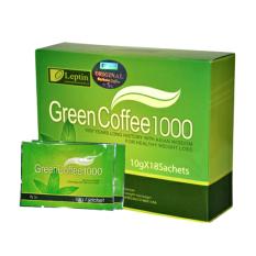 Jual Leptin Green Coffee 1000 1 Box Isi 18 Leptin Branded
