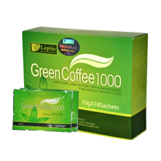 Spesifikasi Leptin Green Coffee 1000 1 Box Isi 18 Online