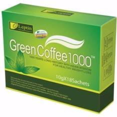 Review Leptin Green Coffee 1000 Suplemen Diet Organik Pelangsing Original 1 Box Isi 18 Sachets Di Jawa Barat