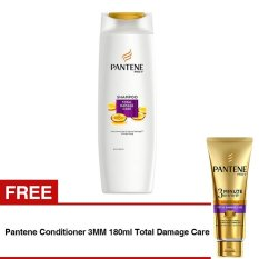 Beli Limited Line Promo Pantene Shampoo 340Ml Total Damage Care Free Pantene Conditioner 3Mm 180Ml Total Damage Care Nyicil