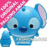 Obral Lip Smacker Tsum Tsum Lip Balm Stitch Blueberry Wave With Packaging Murah