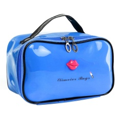 lipstick-mouth-print-patent-leather-cosmetic-bag-solid-color-storage-bagblue-intl-8183-06676816-6c4021f69b6be50fed7104ccc9214c67-catalog_233 Review Harga Yt Lipstick And Leather Termurah untuk tahun ini