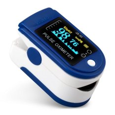 Iklan Livotech Pulse Oximeter Spo2 Heart Rate Biru