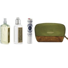 Harga L Occitane Travel Series 4Pcs With Cosmetic Bag L Occitane Asli