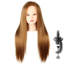 Beli Lurus And Panjang Sisi Belahan Rambut Wig With Berdiri Manekin Tata Penataan Desain Abu Pirang Abu Abu Gelap Cicil