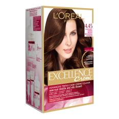 Loreal Excellence Hair Color  Mahogany Ket 4.45