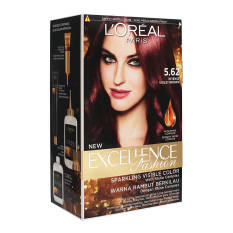 Ulasan L Oreal Paris Excellence Fashion 5 62 Violet Brown