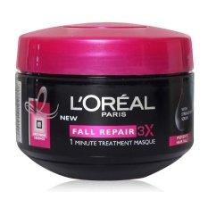Jual L Oreal Paris Fall Resist 3X Hair Mask 200Ml Masker Rambut Satu Set