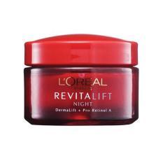 Diskon Loreal Revitalift Night Cream Anti Wringkle Firming Demalift Pro Retinol A Branded