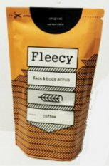 Lucky Fleecy Scrub Coffee Original New Pack 200gr - 1 Pcs