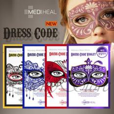 Harga Lucky Mediheal Mask Dress Code Violet Masker Mediheal Dress Code Violet Ungu 1 Box Branded