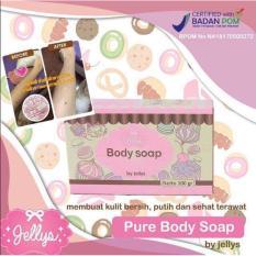 Diskon Produk Lucky Pure Soap By Jellys Sabun Pemutih Muka Dan Badan 100 Gram 1 Pcs