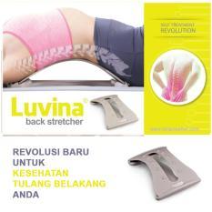 Jual Luvina Back Stretcher Alat Terapi Peregangan Tulang Belakang Saraf Kejepit Branded Original
