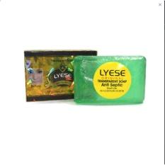 Lyese soap original anti septic-sabun wajah -transfran hijau 1pcs