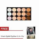 Spesifikasi M N Makeup Concealer Palette 15 Warna Spidol Eyeliner L A Dan Harga