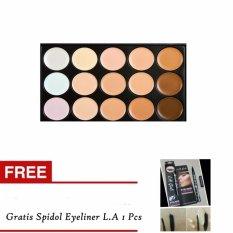 Beli M N Makeup Concealer Palette 15 Warna Spidol Eyeliner L A Terbaru