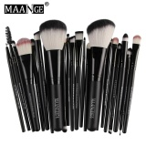 Beli Maange 22 Pcs Foundation Blush Pewarna Mata Lip Makeup Brushes Kosmetik Alat Internasional