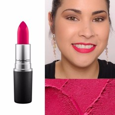MAC Lipstick - All Fired Up ( Fuschia Red )