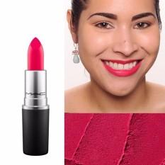 MAC Lipstick - Relentlessly Red ( Pinkish Coral )