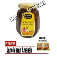 Madu Al Shifa Arab Natural Honey original - 250 gram + Jahe Amanah