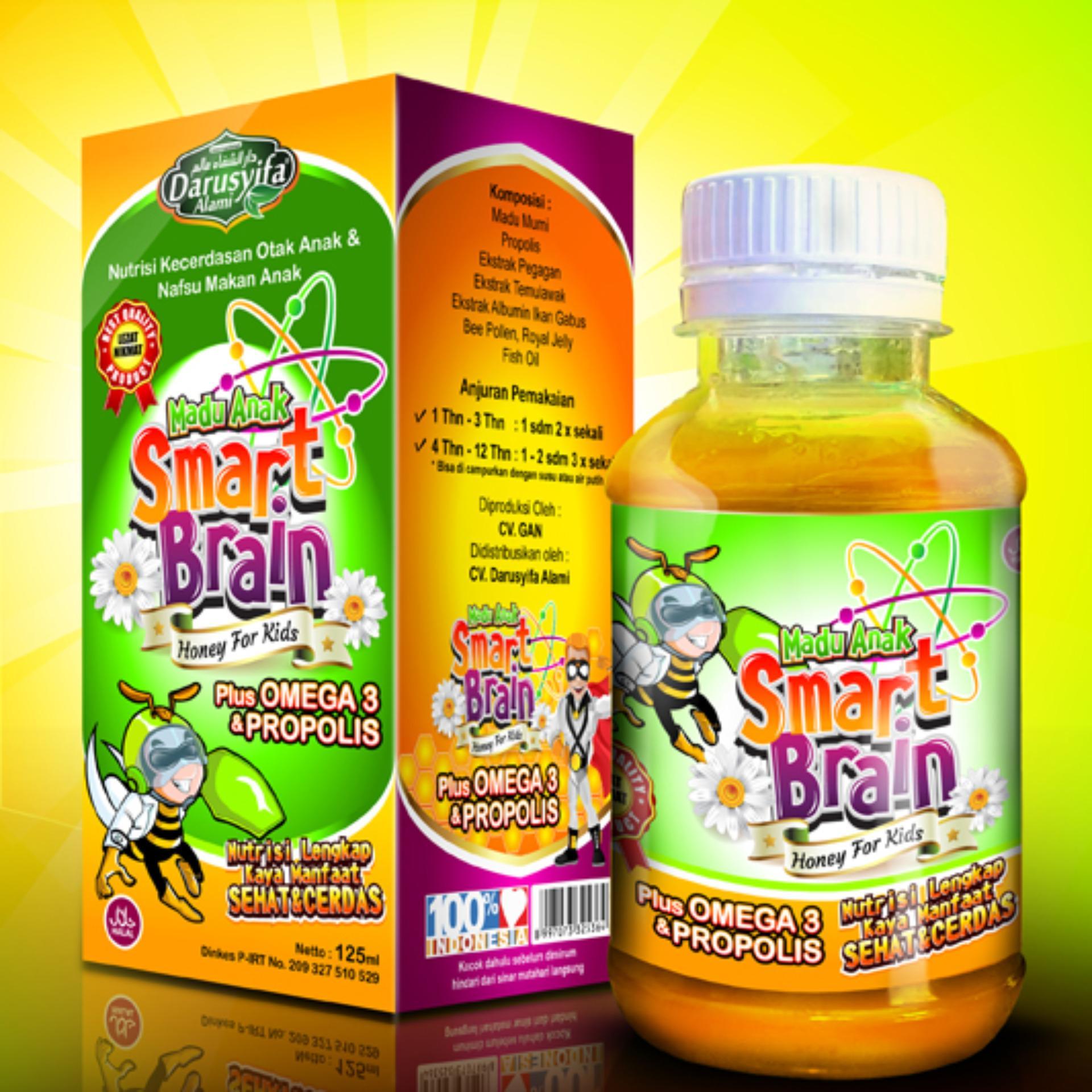 Harga preferensial Madu Anak Pintar Smart Brain Plus Omega 3 Dan Propolis terbaik murah - Hanya