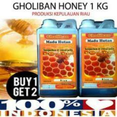 2 Paket MADU GHOLIBAN RIAU PLUS BEE POLLEN DAN ROYAL JELLY buy 1 get 1