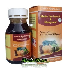 Madu Ibu Hamil dan Menyusui Permata herbal - Paket 2Pcs