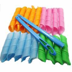 Dapatkan Segera Magic Leverage Pengeriting Rambut Instan Hair 18 Curly Roll 1 Stick Instant Tanpa Listrik Keriting Dalam Sekejap Mudah Alami Digunakan Praktis Hemat Tidak Membuat Rambut Rusak Styling Multicolor