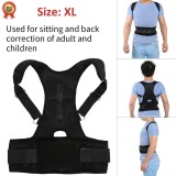 Jual Cepat Magnetic Back Shoulder Lumbar Support Posture Correction Belt Xl Intl