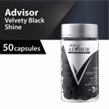 Spesifikasi Makarizo Advisor Hair Vitamin Rambut Velvety Black Shine Kapsul 1 Ml 50 Pcs Makarizo