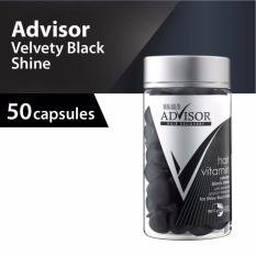 Beli Makarizo Advisor Hair Vitamin Rambut Velvety Black Shine Kapsul 1 Ml 50 Pcs Online Terpercaya