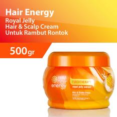 Toko Makarizo Hair Energy Creambath Royal Jelly Extract 500 Gr Online Indonesia