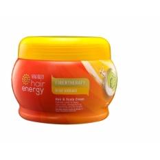 Review Tentang Makarizo Hair Energy Fibertherapy Kiwi Extract Hair Scalp Cream