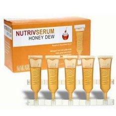Makarizo Honey Dew Nutriv Serum - Memperbaiki Rambut Rusak - 5pc