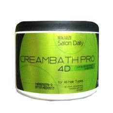Spesifikasi Makarizo Salon Daily Hair Creambath Pro 4D Masker Creambath 500Gr Yang Bagus Dan Murah
