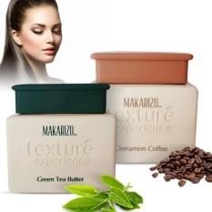 Jual Makarizo Texture Experience 500 Gram Masker Rambut Creambath Green Tea Butter Termurah