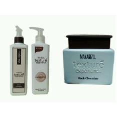 Dapatkan Segera Makarizo Texture Shampoo Conditioner Creambath Black Chocolate
