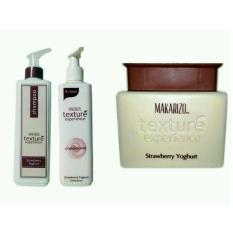 Jual Makarizo Texture Shampoo Conditioner Creambath Strawberry Yoghurt Makarizo Di Jawa Barat