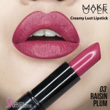 Spesifikasi Make Over Creamy Lust Lipstick 03 Raisin Plum Baru
