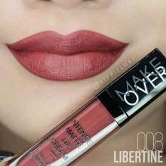 Review Make Over Intense Matte Lip Cream 008 Libertine Jawa Barat