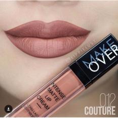 Spesifikasi Make Over Intense Matte Lip Cream 012 Couture Make Over Terbaru