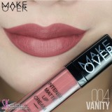 Review Make Over Matte Lip Cream 04 Vanity Terbaru