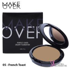 Harga Make Over Perfect Cover Creamy Foundation 05 French Toast Seken