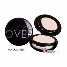 Miliki Segera Make Over Perfect Cover Two Way Cake 02 Coral