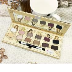 Review Make Up Store Tude Eyeshadow Palette Ever Beauty 12 Warna Terbaru