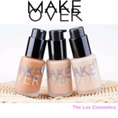 MAKEOVER Matt Foundation 33ml Warna 02 best seller